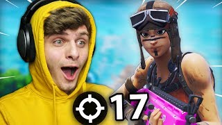 MY NEW KILL RECORD WITH THE RARE RENEGADE RAIDER SKIN | Fortnite