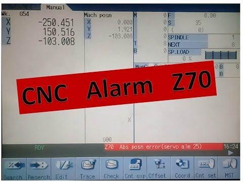 Z70 Abs posn error (sover aim 25) cnc misu M70