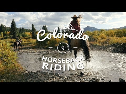 100 REASONS COLORADO IS AWESOME! // Horseback Riding