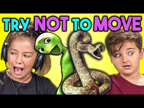 Kids React To TRY NOT TO MOVE Challenge #3
