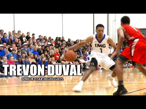 Trevon Duval Is DUKE's Next Great PG! Senior Year Highlights - Tricky Tre