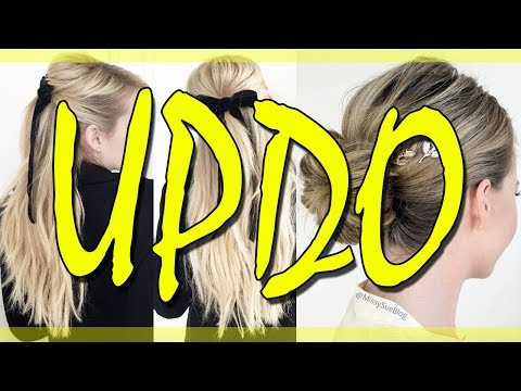 EASY UPDOS FOR LONG HAIR 2018 💛 NEW UPDO HAIRSTYLES 2018