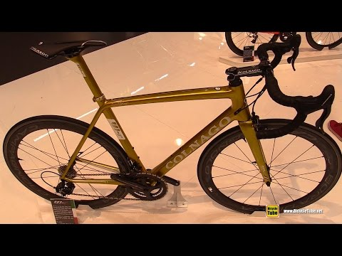 5bcc9e2f77b 2017 Colnago V1R Golden Road Bike - Walkaround - 2016 Eurobike - YouTube