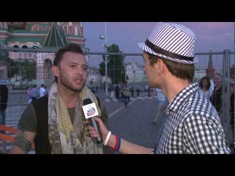 День России 2012 - За кадром - Рома Зверь