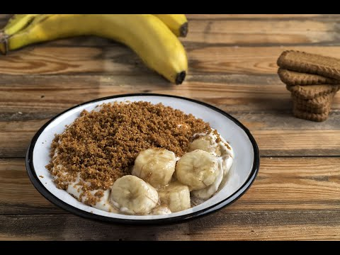 בננות קרמל בקרם חלב וקראמבל של אבי ביטון