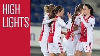 Highlights PEC Zwolle - Ajax Vrouwen