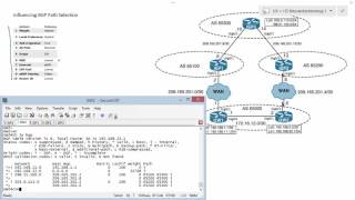 CCNP Route 7-10 BGP Implementation Implementing BGP Influencing Path Selection Weight