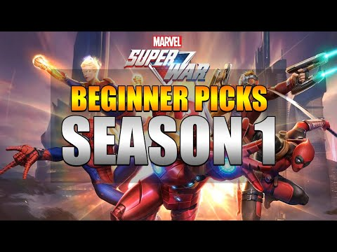TOP 10 PICKS FOR BEGINNERS TO CLIMB IN RANK   MARVEL SUPER WAR