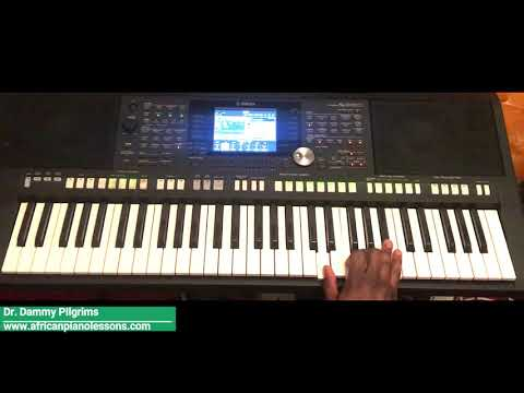 African Highlife - Piano tutorial in Key F. Part 2 (Nigerian