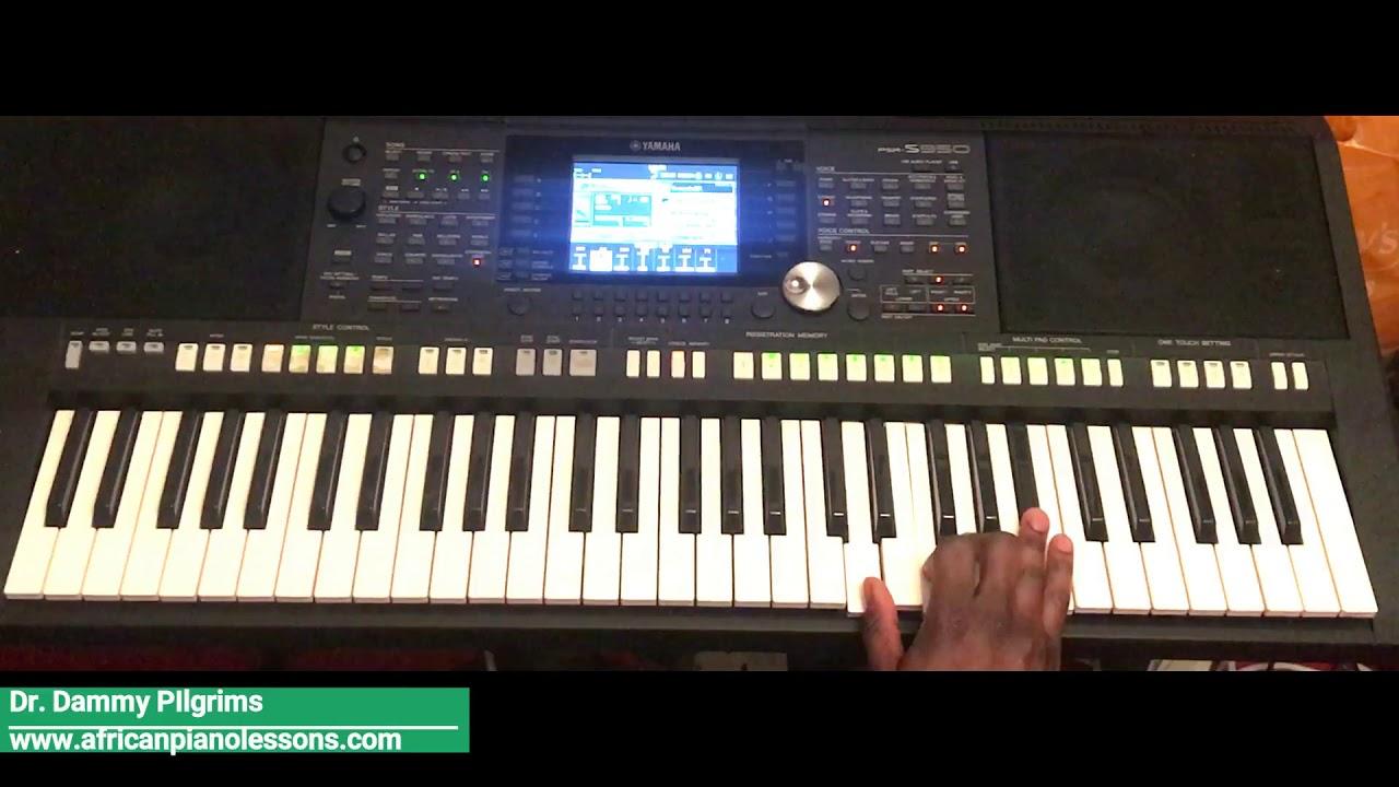 Download African Highlife - Piano tutorial in Key F. Part 2 (Nigerian versus Ghana highlife)