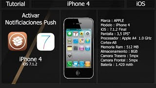 Video Tutorial IPhone 4 / Activar Notificaciones Push iOS 7.1.2 download MP3, 3GP, MP4, WEBM, AVI, FLV Juni 2018