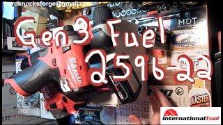 Milwaukee 2596-22 Gen 3 Fuel with free 2415-20 from InternationalTool.com thumbnail