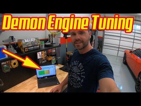Tuning a Demon Engine Speedy's Garage Hellcat Challenger