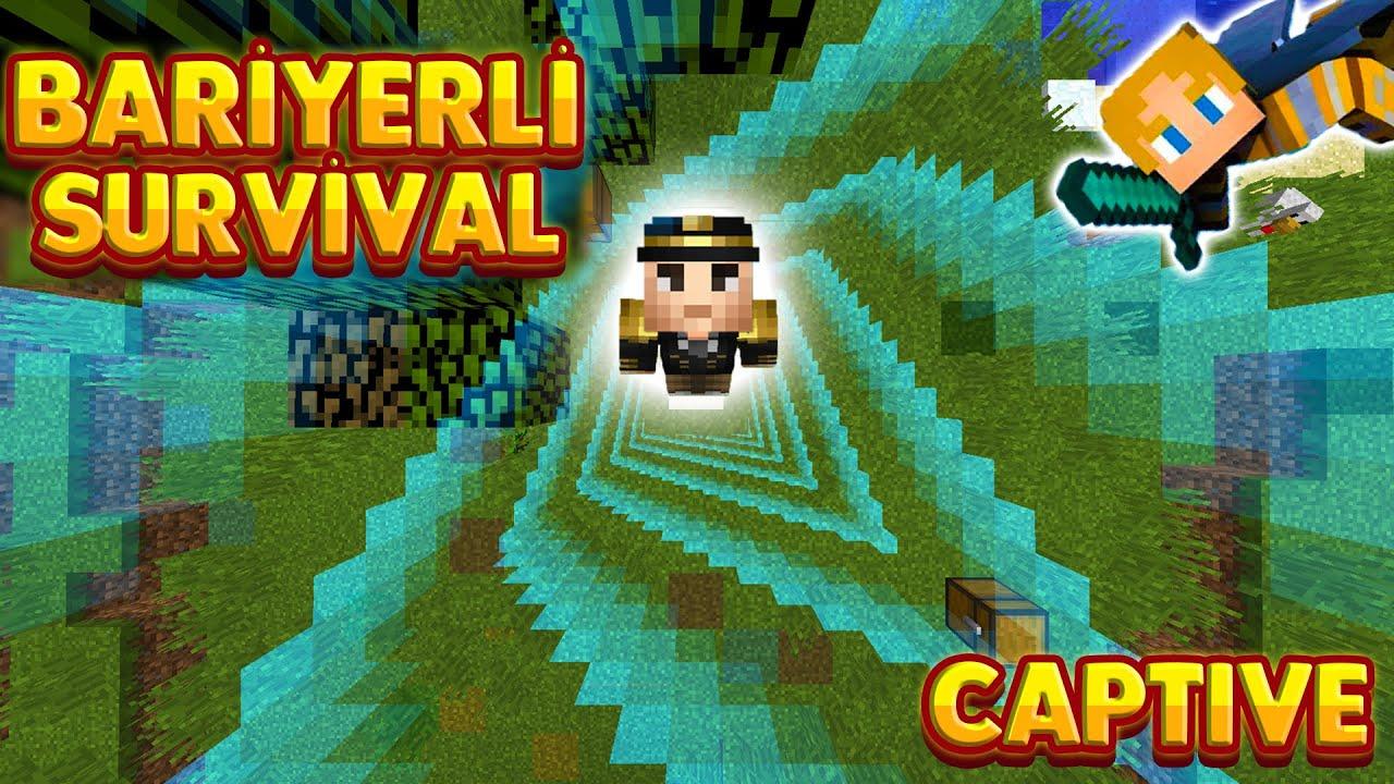 HER BAŞARIMDA SINIR BÜYÜYOR - Minecraft Captive - Bölüm 1