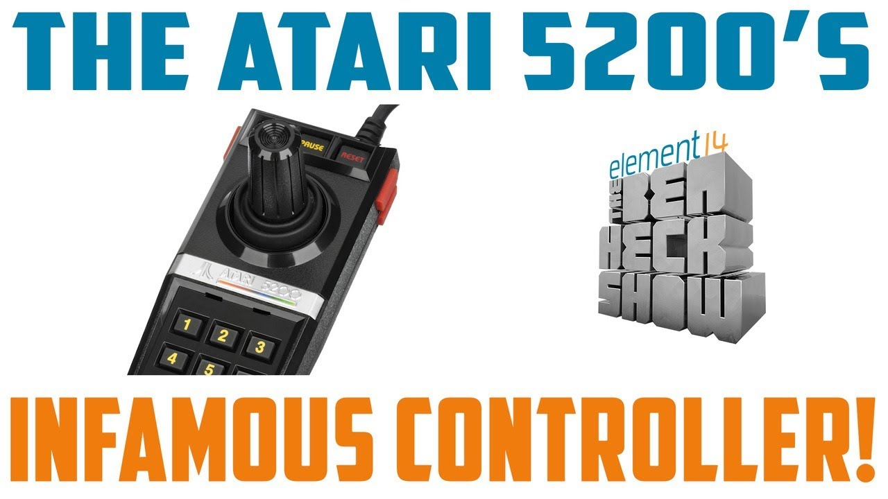 Atari 5200: Making a Better Controller - YouTube on famicom controller, sega genesis controller, atari jaguar 2, dreamcast controller, gameboy color controller, commodore 64 controller, atari 400 controller, atari jaguar controller, magnavox odyssey controller, channel f controller, bandai controller, atari lynx, sega saturn controller, intellivision controller, colecovision controller, atari falcon controller,
