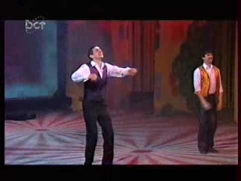 Байегет танцует ирландские танцы