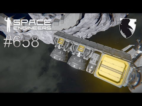 HYDROGEN THRUSTER = BAD IDEA? :: Space Engineers Survival :: Ep. 658