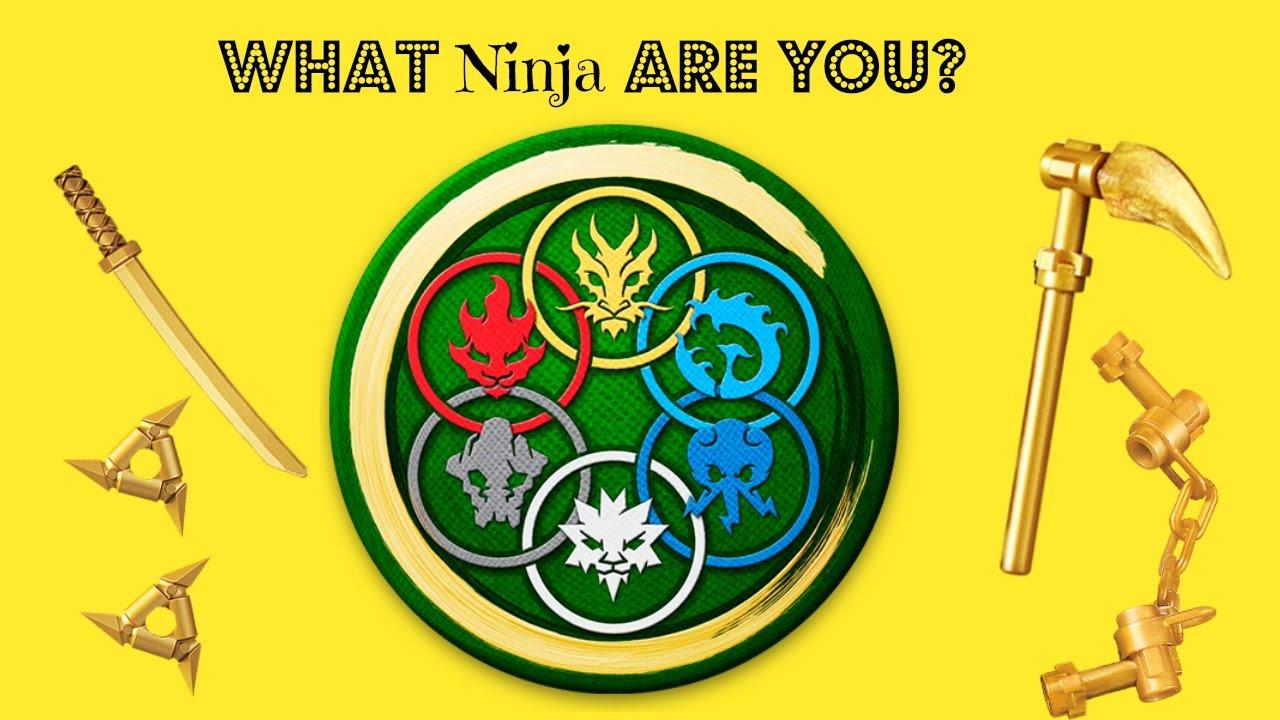 Ninjago Quiz: What Ninja Are You? - YouTube