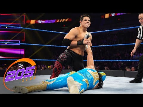 Gran Metalik vs. Humberto Carrillo: WWE 205 Live, Jan. 22, 2019