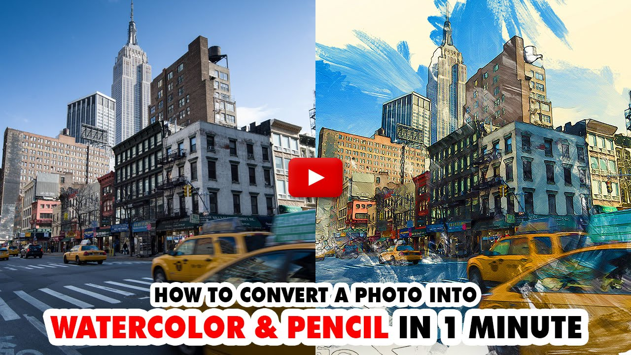 Watercolor And Pencil Photoshop Action - Tutorial | Mesothelioma Attorney Directory Of Photoshop