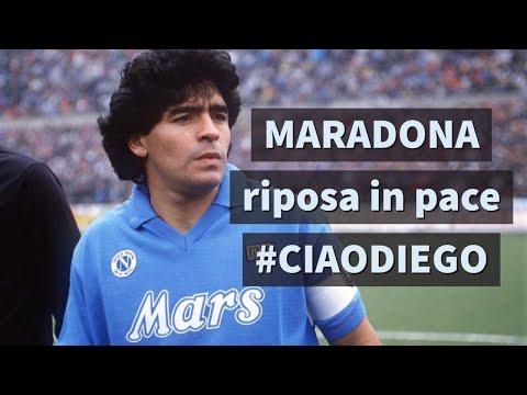 E' morto Diego Armando Maradona. Un ricordo del Pibe de Oro (RIP MARADONA)