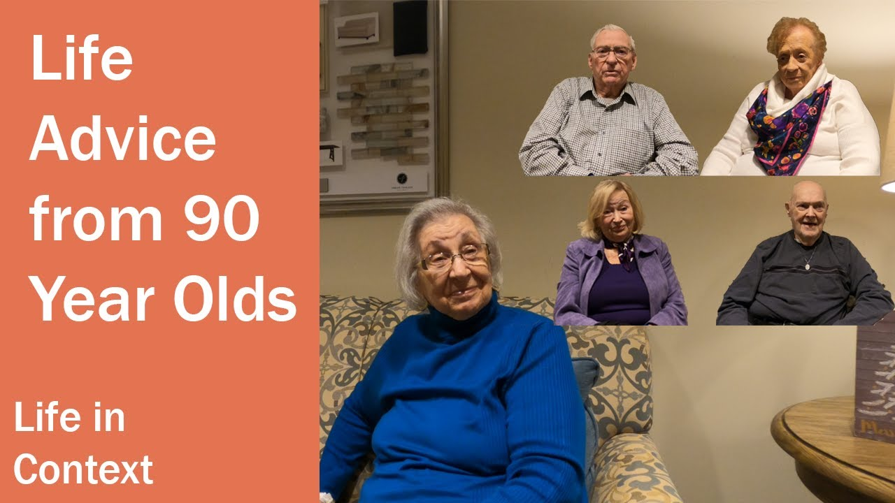 Growing Old to the Glory of God- Life Joys & Regrets of 90 Year Olds