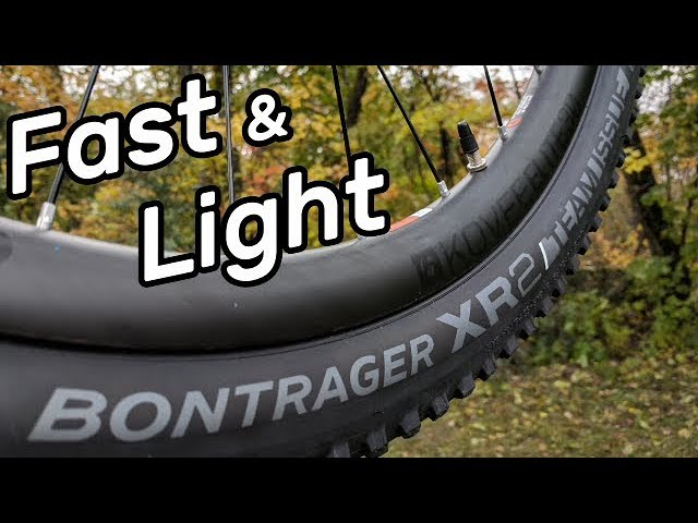 Bontrager XR2 Team Issue Race Folding Tubeless Ready MTB Mountain Bike Tire