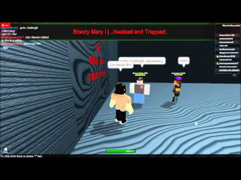 Bloody Mary Roblox Riddle Answer Roblox Bloody Mary Awake And Trapped Walkthrough 13 Youtube