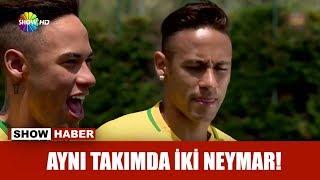 Aynı takımda iki Neymar!