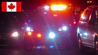 Pointe-Claire | BRAND-NEW Montréal Fire Service (SIM) Battalion 132 Responding