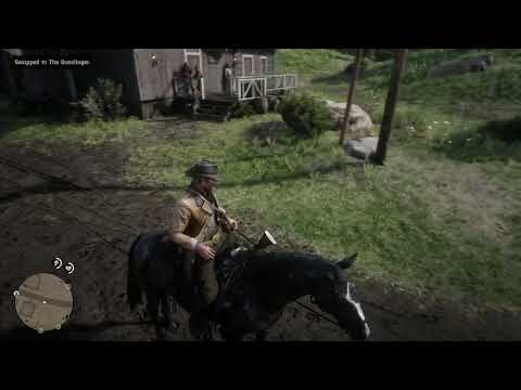 Red Dead Redemption 2 - How To Clean Your Horse & Change Outfits While Riding Tutorial (2018)
