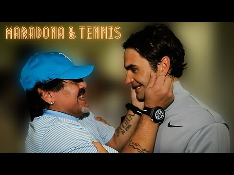 5 Tennis Memories with Diego Maradona | Featuring Del Potro, Djokovic, Nadal, Federer & Wozniacki