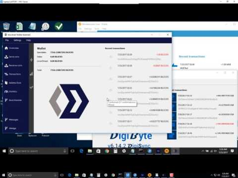 Blocknet MUE for DGB Decentralized Atomic Swap Trade Across Blockchains