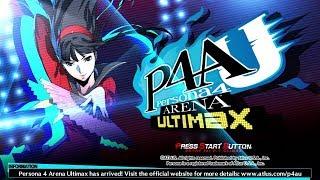 Persona 4 Arena Ultimax (Arcade Mode) (PlayStation 3)【Longplay】