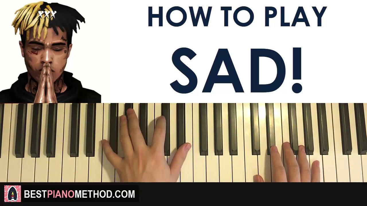 sad song piano sheet easy