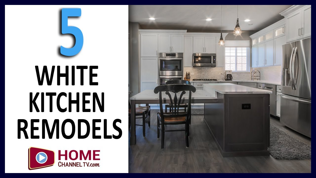 5 White Kitchen Remodels | Before & After Kitchen Renovations - Remodeling Ideas