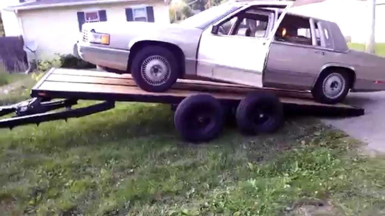 Home Built Race Car Trailer