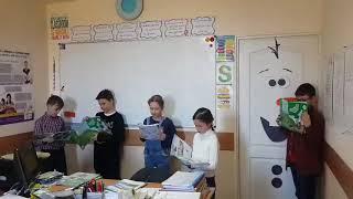 A bit of drama in English class