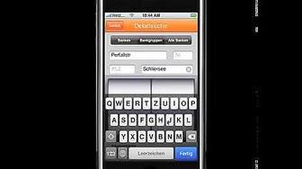 "iPhone App ""Geldautomaten in der Nähe"""