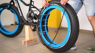 Nsane Hubless Bicycle