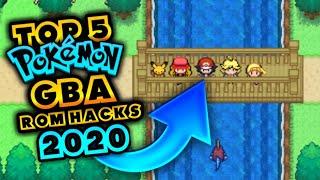 TOP 5 BEST POKEMON GBA ROM HACK [2020]
