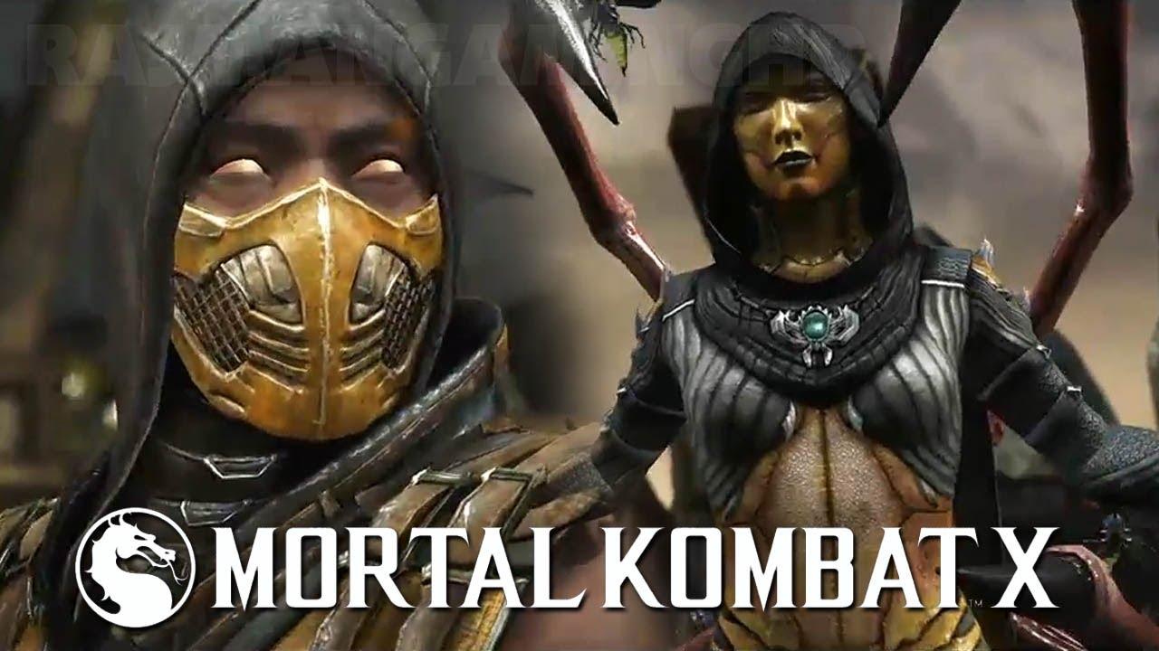 Mortal Kombat X - Scorpion vs D'Vorah / Sub-Zero vs Ferra/Torr PS4 Gameplay Demo E3 2014