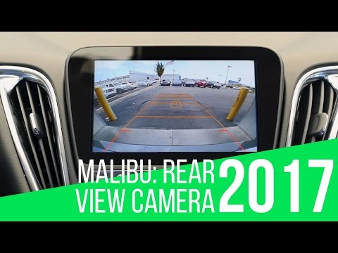 2017 Chevy Malibu: Rear View Camera