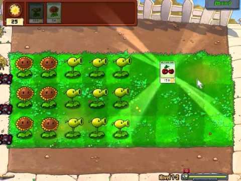 Vamos A Jugar Plantas Vs Zombies ! Pt 1, Empieza El Juego