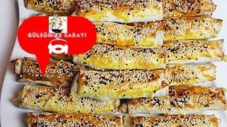 Sigara böregi / firinda sigara böregi / patatesli sigara böregi / Gülsümün Sarayi
