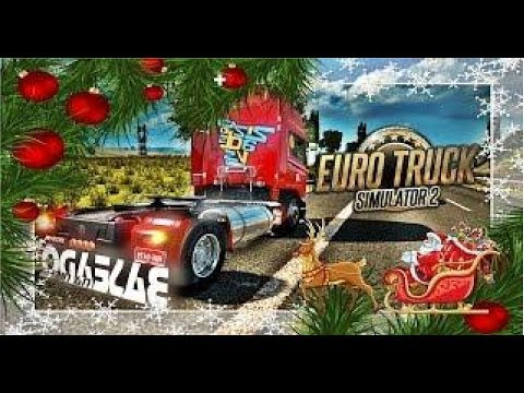 🔴 [ LIVE ] EURO TRUCK SIMULATOR 2 - Um Natal pela Europa !