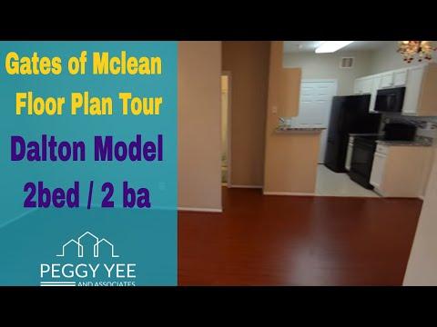 Gates Of Mclean Floor Plan  Dalton Model  2 Bedroom 2