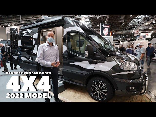 Randger Vans 560 og 570 med 4-hjulstræk  (2022 model)