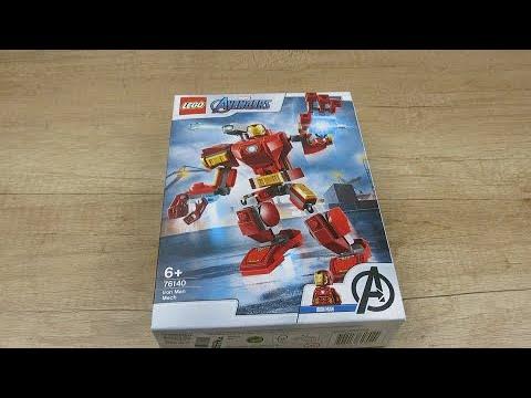 Обзор на LEGO Super Heroes Marvel Comics Железный Человек из Rozetka.com.ua