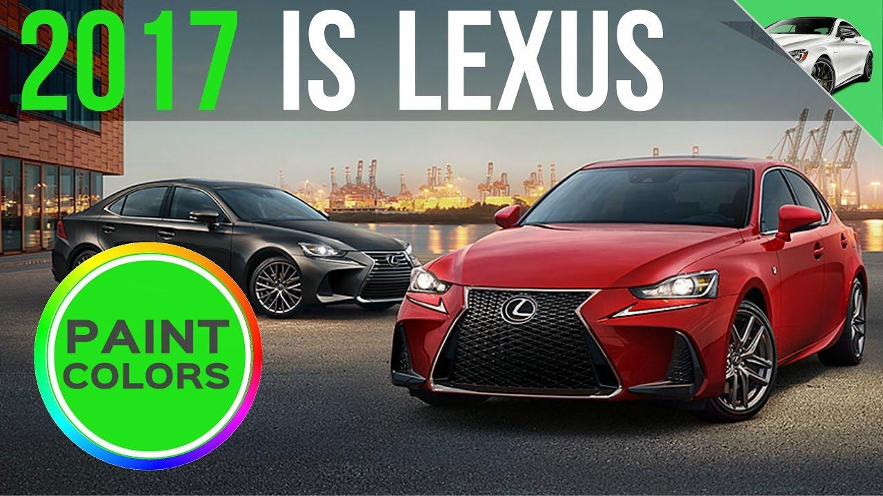 Lexus Paint Codes